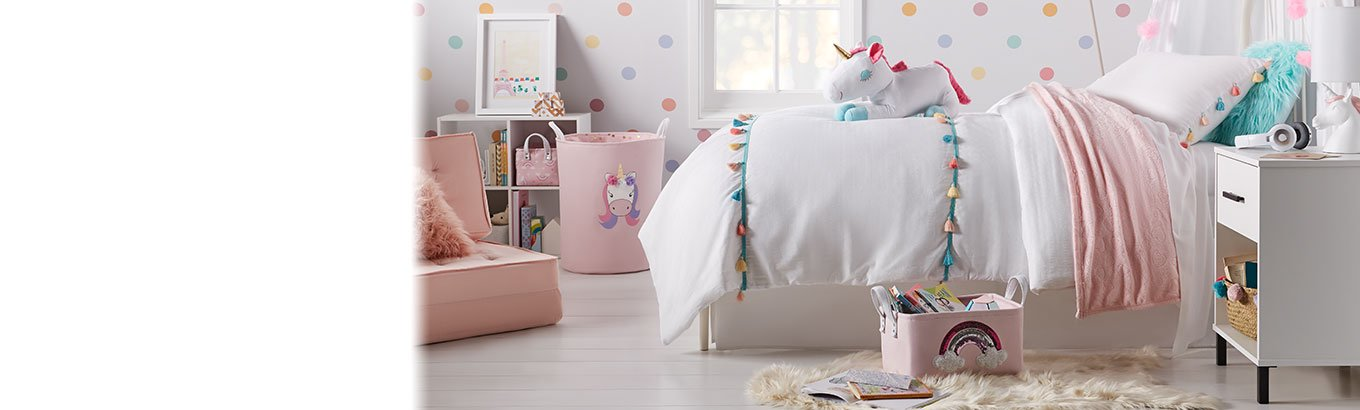 Online and in stores. Make a magical kids' room with Your Zone. Dream of spring with storage, bedding, decor, and furniture.