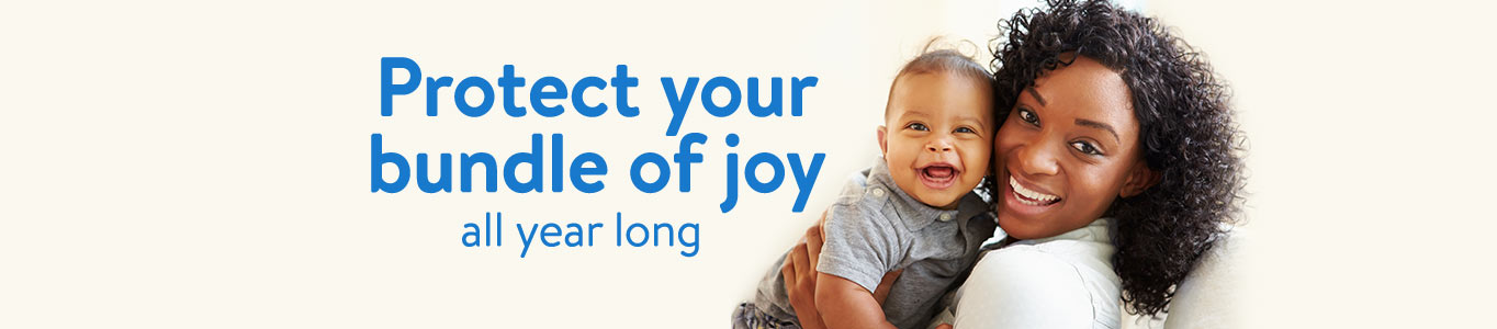 Protect your bundle of joy all year long.