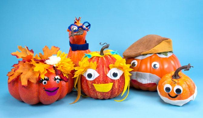 No-Carve Pumpkin Decorating Ideas - Walmart.com