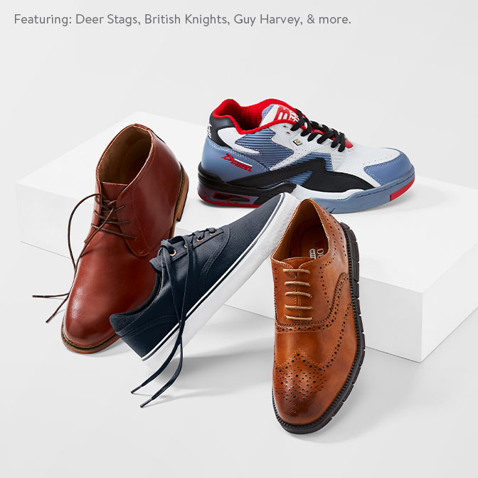 22678ea3 New shoe brands we love. Featuring: Deer Stag, British Knights, Guy Harvey