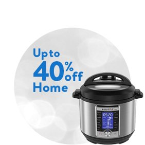 Up to 40% off Home: Home Deals