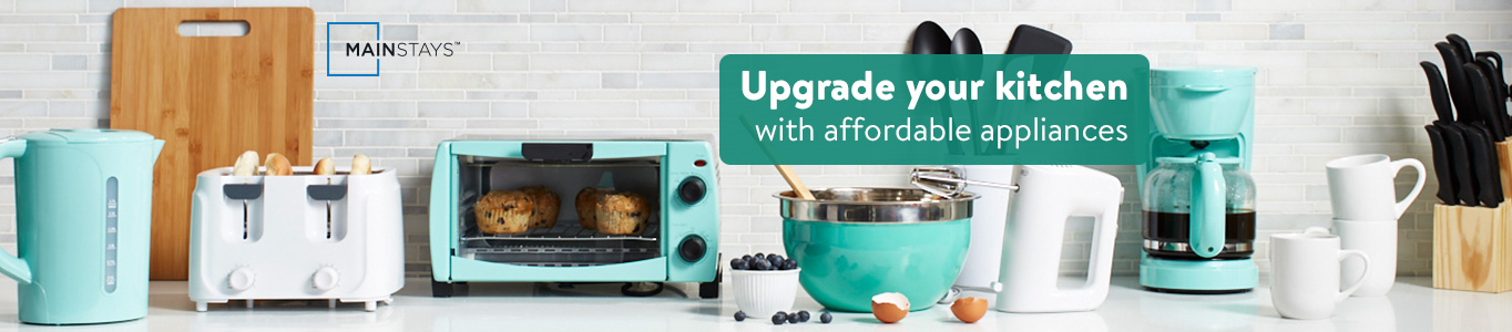 upgrade your kitchen with affordable appliances