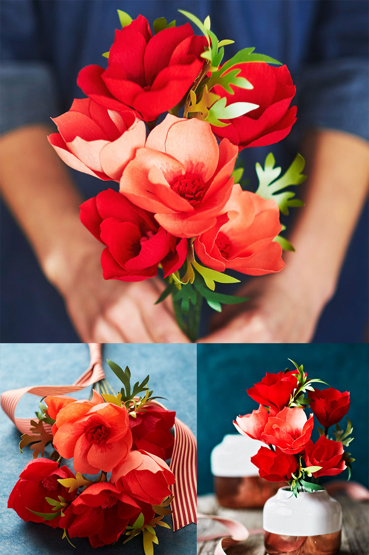 How To Make A Crepe Paper Cosmos Flower With Lia Griffith Walmart