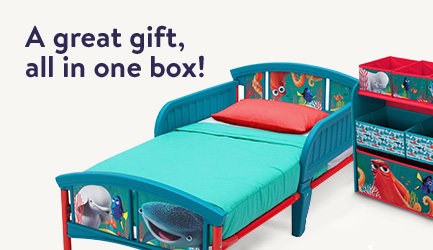 Kids' furniture, all in one box. Makes a great gift!