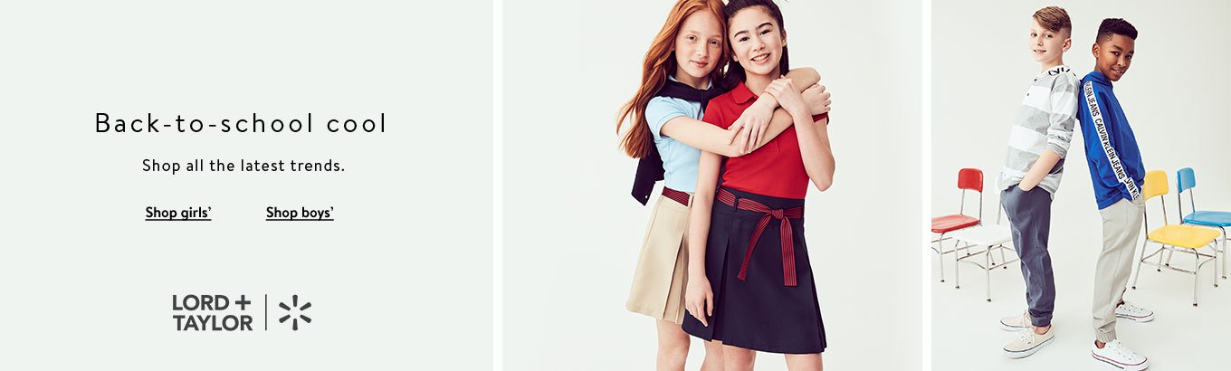Lord & Taylor Back to School for Kids