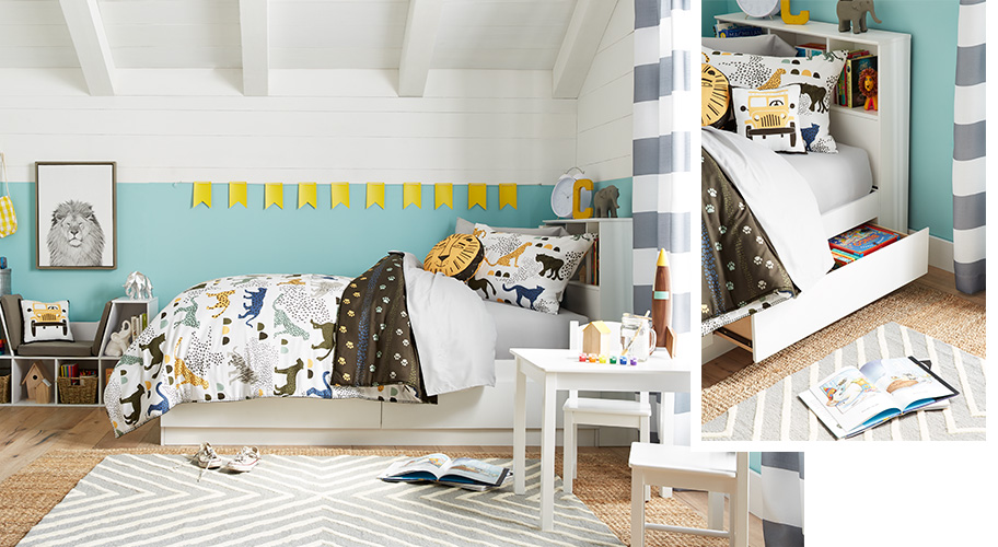 Kids 39 rooms - Childrens small bedroom furniture solutions ...