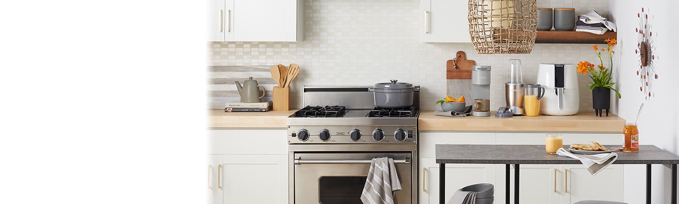 Small-space living. Shop small kitchen ideas. Compact picks for an organized space.