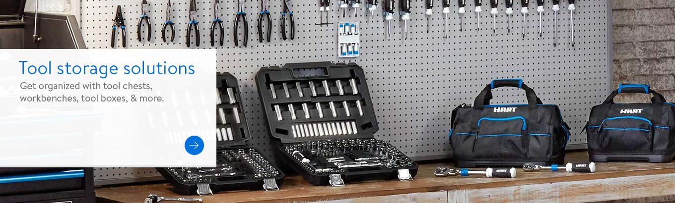 Tool Storage Solutions. Get organized with tool chests, workbenches, tool boxes & more.