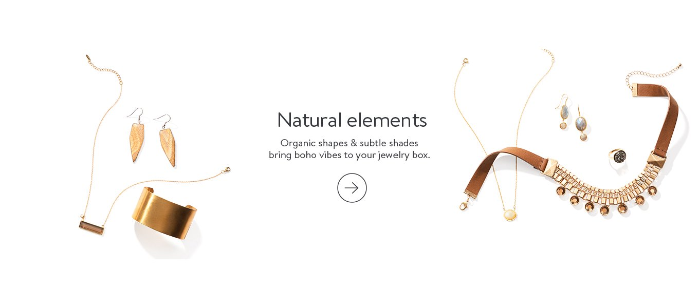 natural elements organic shapes subtle shades bring boho vibes to your jewelry
