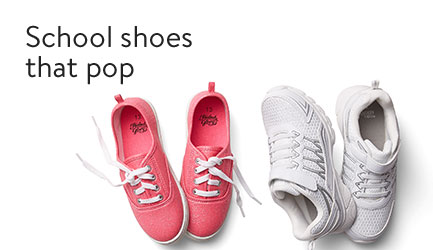 School shoes that pop