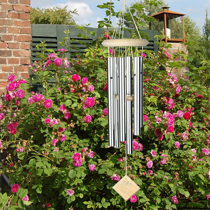 Create tranquility with wind chimes.