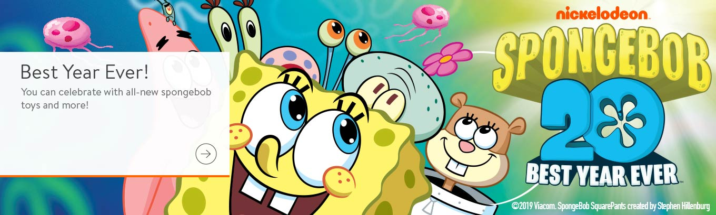 * by Designware 1ct SpongeBob Buddies Happy Birthday Banner