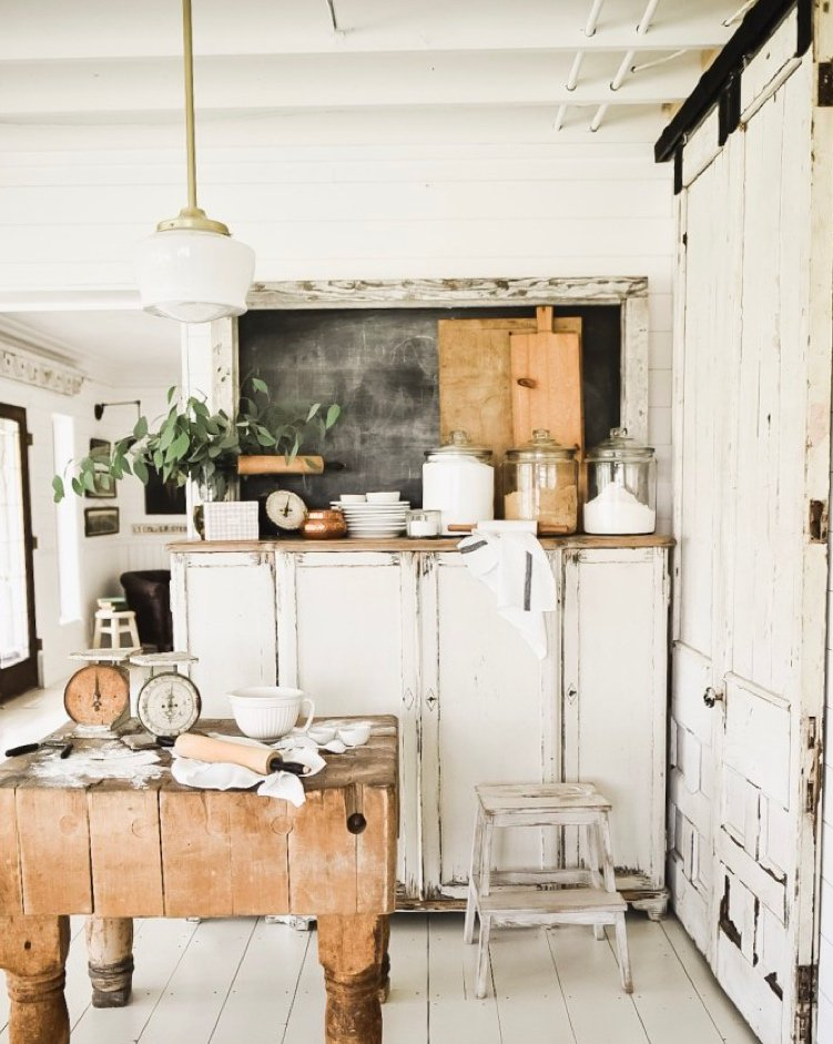 Liz Marie jFarmhouse Kitchen