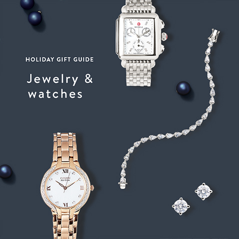 HOLIDAY GIFT GUIDE Jewelry & watches Find present-worthy timepieces & more.