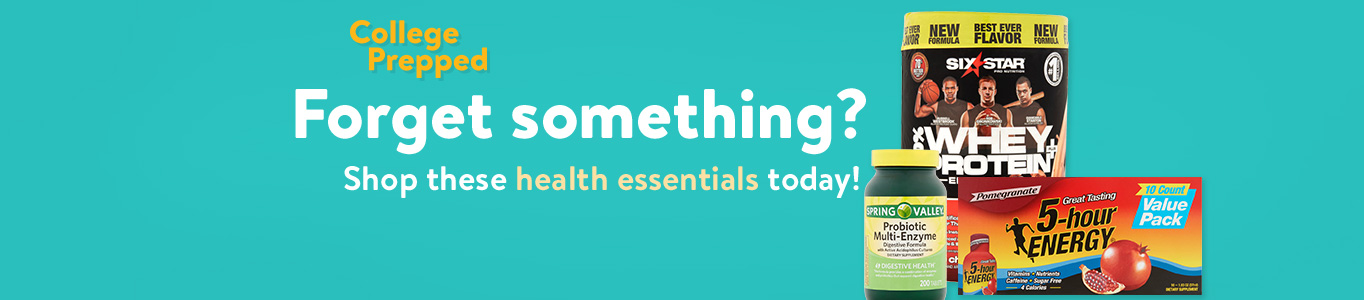 Grab these health essentials today!