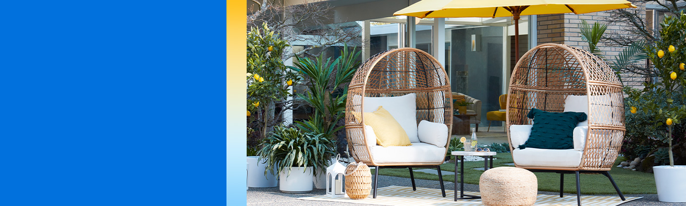 Walmart - Home Summer Lookbook Patio starting at just $4.63