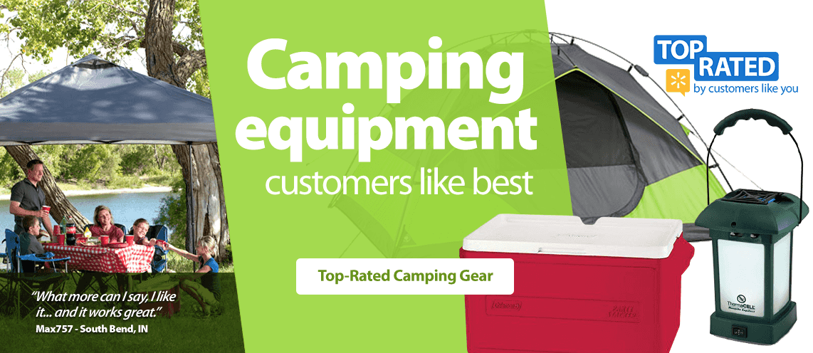 Camping Equipment Customers Like Best