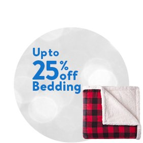Up to 25% off Bedding: Bedding Deals