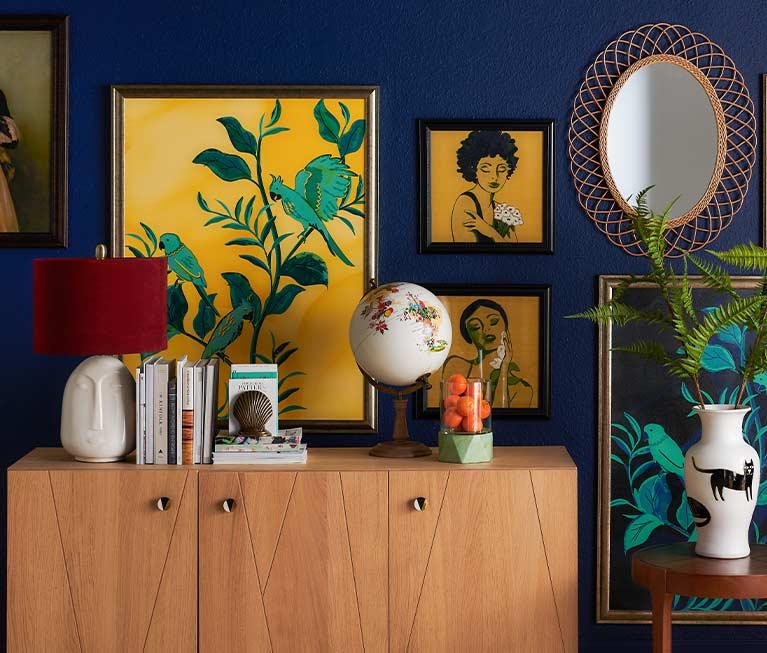 Active Stunning Solid Wood Cabinet Antique/vintage. Cabinets