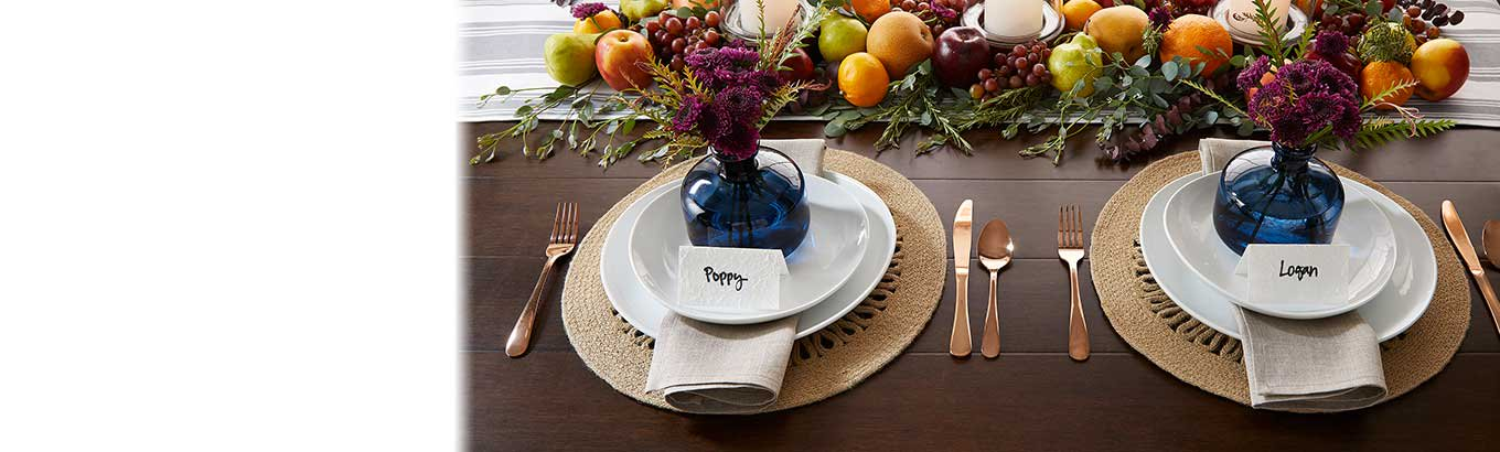 Discover a bounty of fall dinnerware from Better Homes and Gardens.