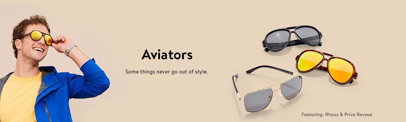 Shop mens aviators