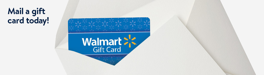 Mail a gift card today