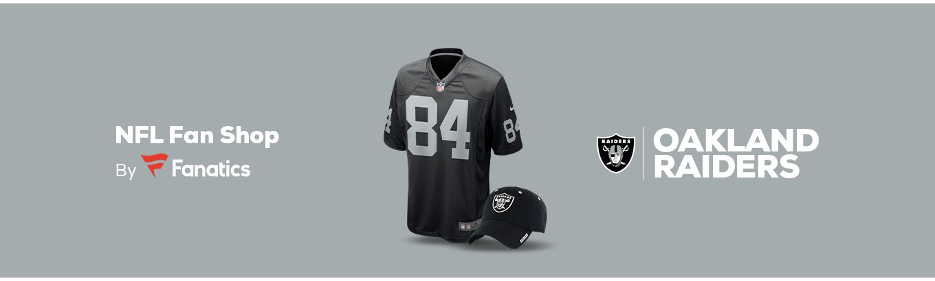 87705f92 Oakland Raiders Team Shop - Walmart.com
