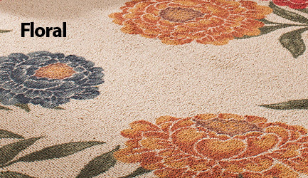 Shop floral rugs.