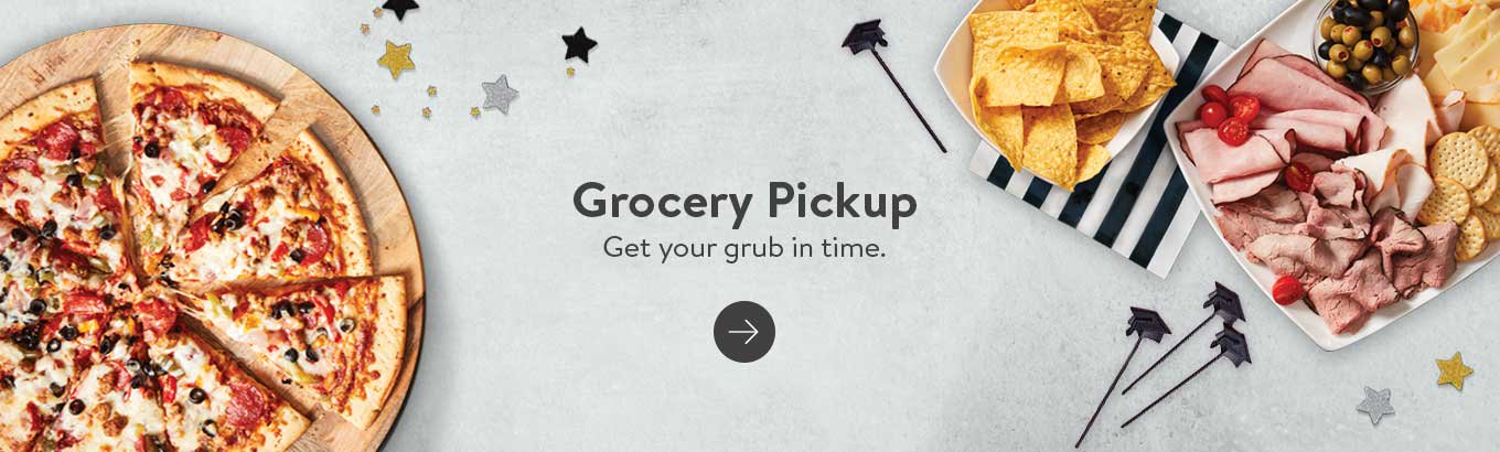 Grocery Pickup. Get your grub in time.