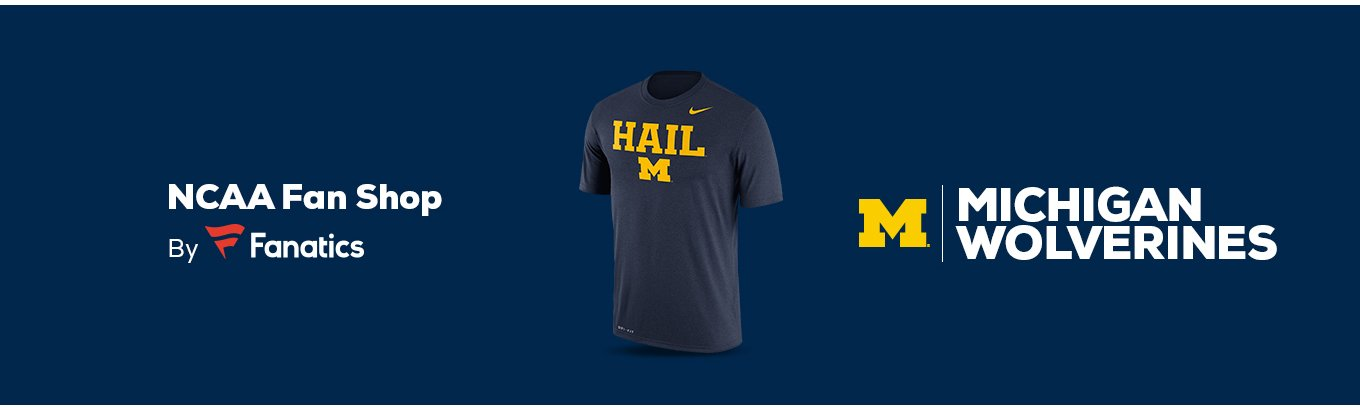 buy online ff45b d9b75 Michigan Wolverines Team Shop