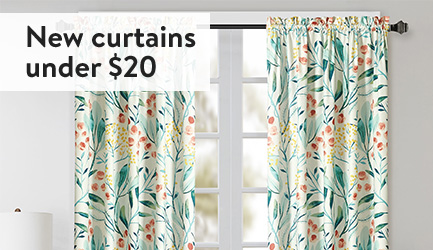 New Curtains Under 20