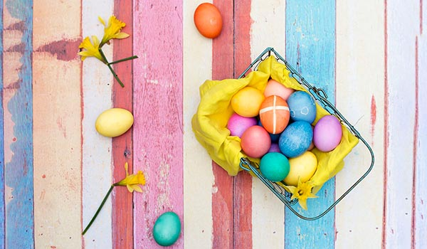 Easter Egg Dyeing & Decorating Guide