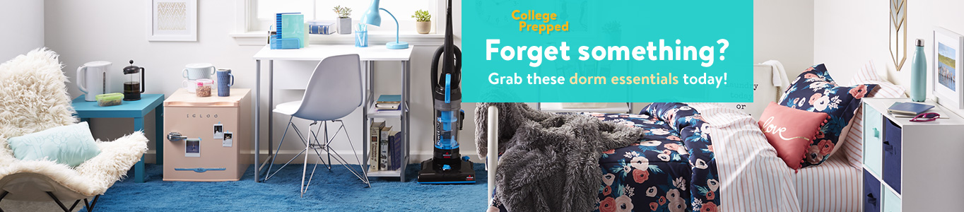 College Dorm Room Essentials Walmartcom - Dorm room essentials