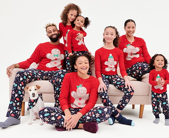 Family pajamas: Cozy sets for you & your crew. Shop all.