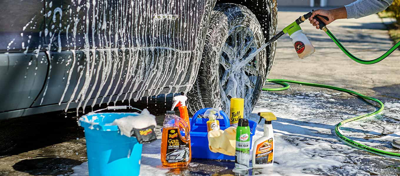 Take a shine to it! Get your car sparkling clean.
