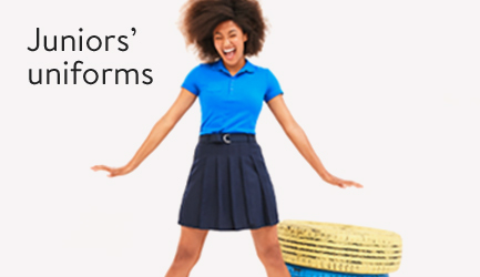 Save on school uniforms for junior.