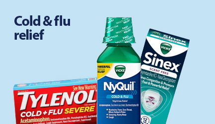 Shop cold and flu relief