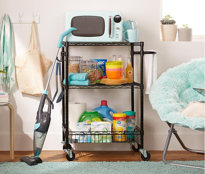 2e500f5a5 Small-space solutions: Keep your dorm room organized with affordable  storage ideas. Shop