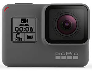 GoPro Hero 6 black 4k high definition camera