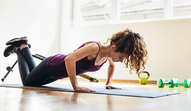 Home workout ideas that save time and money