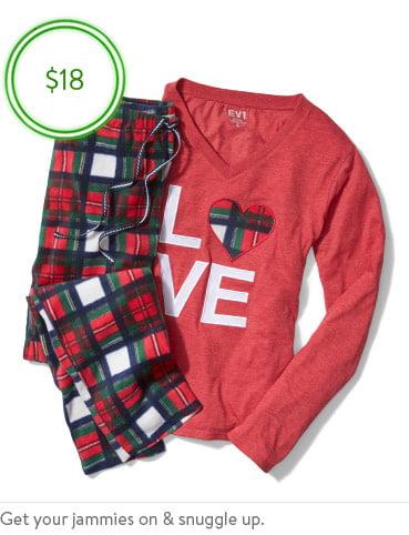 Shop family sleepwear
