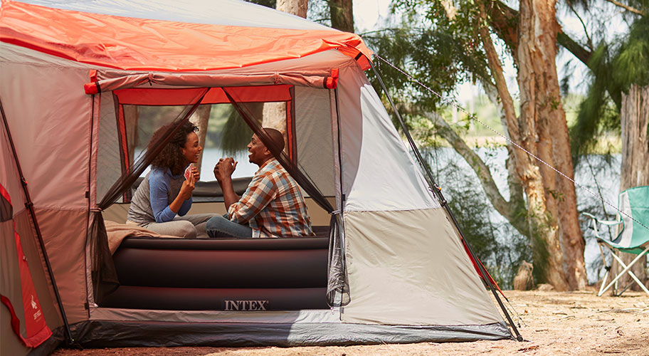 Comfy Camping. Bring the comfort of home to the outdoors with air mattresses and sleep accessories.