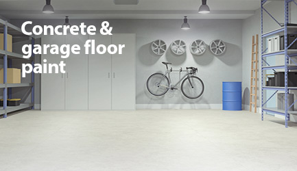 Shop concrete and garage floor paint.