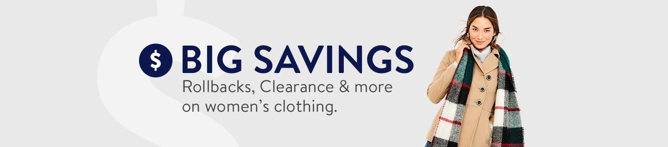 Rollbacks Clearance More On Women S Clothing