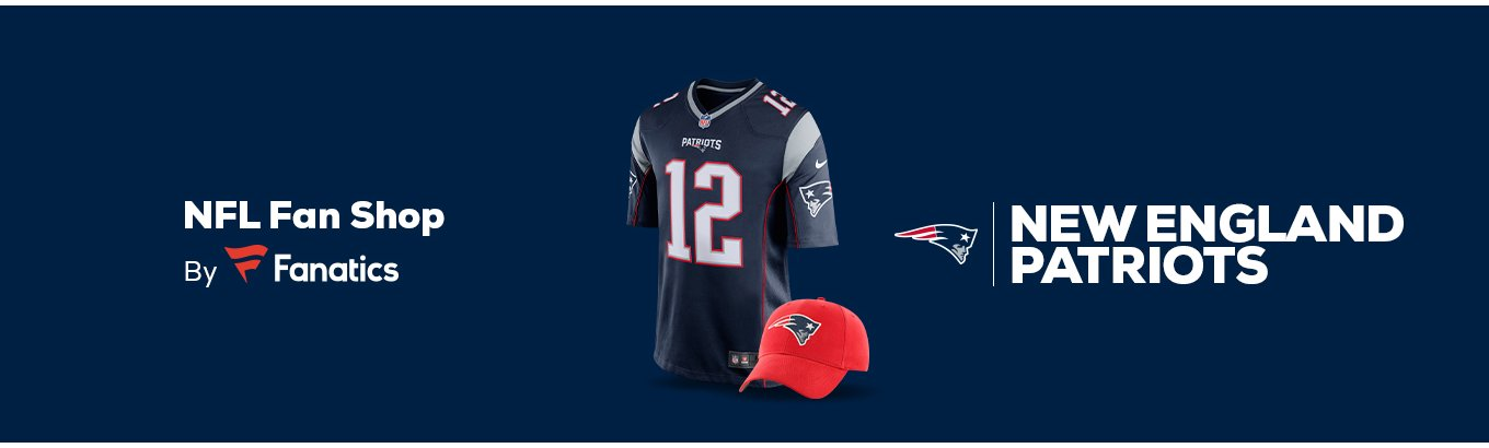 ab1e56cd New England Patriots Team Shop - Walmart.com