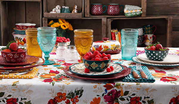 matching and mixed dinnerware & Five tips for mixing and matching dinnerware - Walmart.com