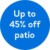 Save Up to 45% off Patio Furniture at Walmart