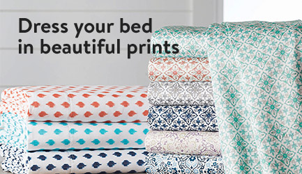 Dress your bed in beautiful prints