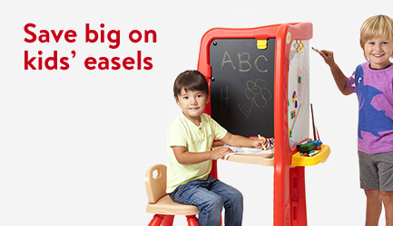 Save big on kids' easels.