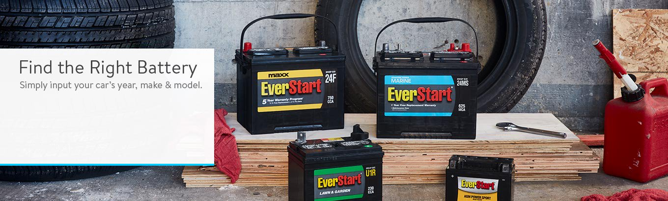 Find the Right Battery.  Simply input your car's year, make & model.
